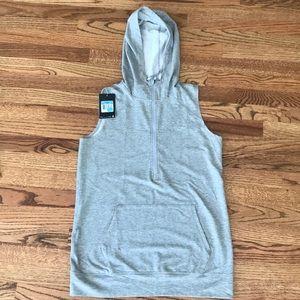 Women's Nike Dri-Fit sleeveless zip up